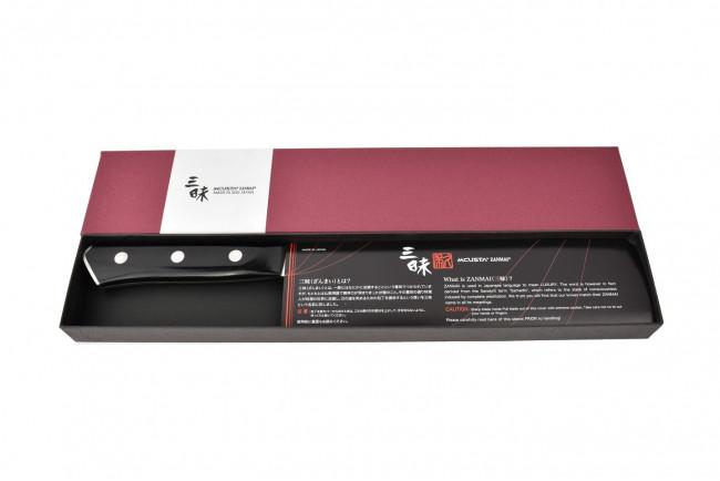 Mcusta HBB6008M - Modern Molybdenum Nakiri 165mm