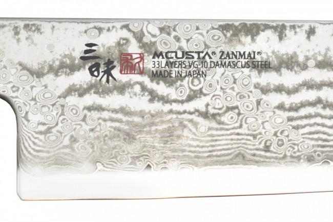Mcusta HZ2-3003DS Splash Hybrid Santoku 180