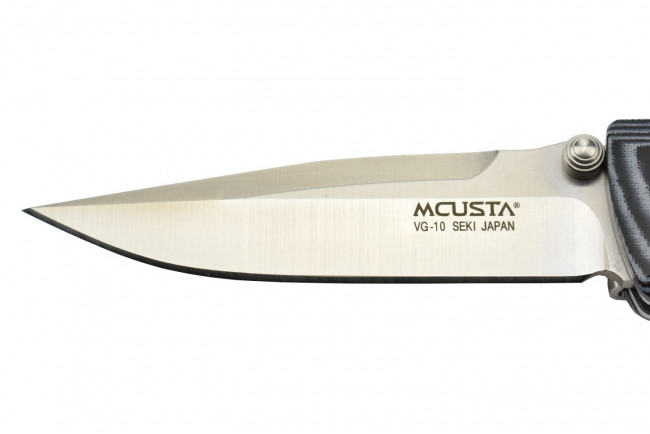 Mcusta MC-10V - VG10 blade - Blue Micarta handle