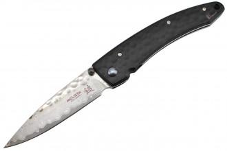 Mcusta MC-114BD Shadow - Damascus blade handle 420j2