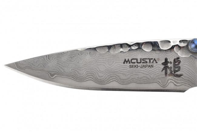 Mcusta MC-114D Tsuchi - Damascus Steel