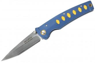 Mcusta MC-42C Katana - Aluminum blue yellow VG10 Clad