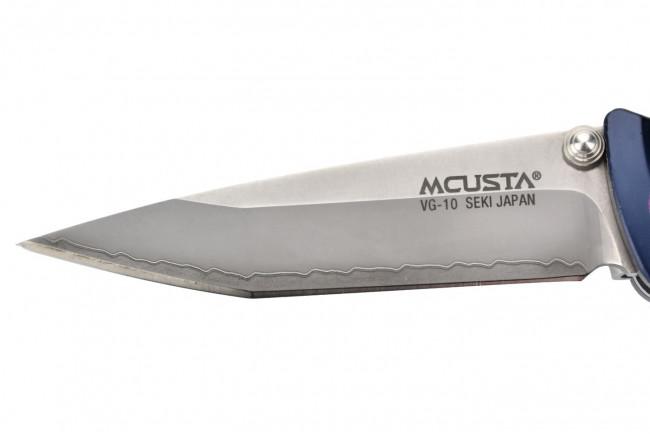 Mcusta MC-43C Katana - Aluminum blue purple VG10 Clad