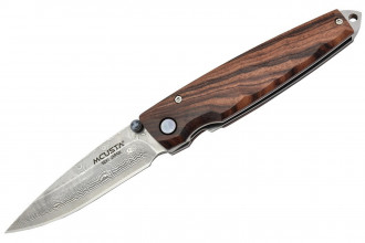 Mcusta MC-77D Tsuchi - Iron wood Damascus