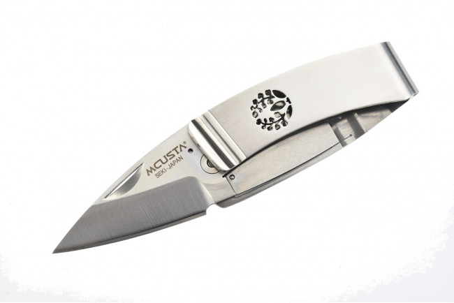 Mcusta MC-84 Kamon Fuji Crest Money Clip - AUS8 Steel