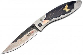 Mcusta MCSY-001 YATAGARASU Mokume Damascus Collector